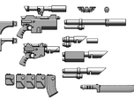 1:6 Scale Imperial Sci-Fi Rifle Variants Kit