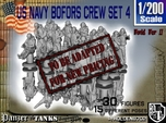 1-200 US Navy Bofors Crew Set 4
