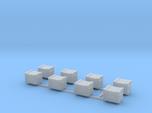 Docking Bay - eight crates, 1:72