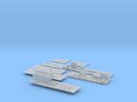 1:350 Scale Nimitz Class Hangar Bay 3