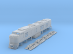 N Scale Propane Turbine locomotive