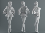 Skirt Girl-002 scale 1/10