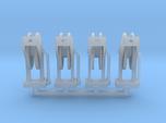 Hose Reel 4pack 1-50 Scale