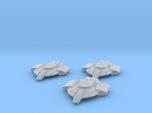 Federation Defiant Class Escort x3 1:7000