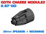 GCM087 - 20mm Speaker + recharge port