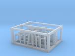HO/1:87 Rotating beacon lights frame kit