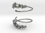 Flower Spiral Earrings