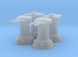 1/270 Rebel DF10 Heavy Turrets (4)