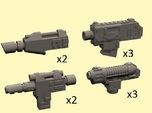28mm SciFi Empire pistols (no handle)