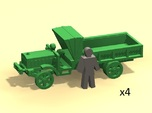 6mm WW1 light trucks (4)