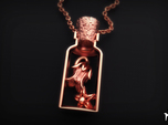 Deadly nightshade Pendant