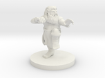 Dwarf Monk with Glorious Hair
