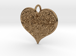 Filigree Engraved Heart pendant