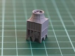 N Scale Industrial Chiller