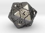 Companion Cube D20 - Portal Dice