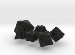 Companion Cube Polyhedral 6 Dice Set