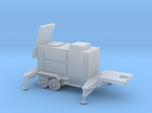 1/87 Scale Patriot Missile Radar Trailer