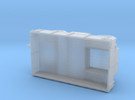 1/87th (H0) scale Uhri trailer without canopy