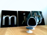 Egg Chair Dome: Men in Black (1:24 Scale)