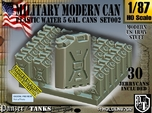1/87 Modern Military WATER Can Set002