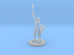 Female Elf Cleric with Mace