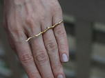 Twig Double Ring