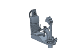YT1300 BANDAY PG TURRET WELL SEAT