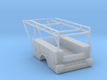 Standard Truck Bed With Ladder Rack 1-87 HO Scale