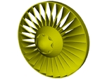 Ø26mm jet engine turbine fan B x 1