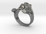 Lion Hug Ring