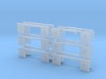 1/64th Set of 12 truck mudflap light bars