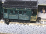 N Scale Piker 20 foot Heavyweight Observation Car