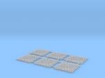 1:87 ManHoleCover - Plaque d'égout (x6)