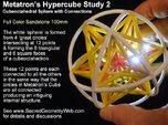 Metatrons Cubeoctahedral Sphere Connections 80mm