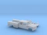 1/160 1990-98 Chevy Silverado CrewCab Utility Kit