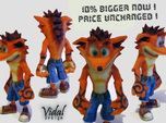 Crash Bandicoot - Normal Pose 76mm
