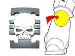20x Xeno Hunters : Small Concave Insignias