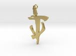 Mark of the Doom Slayer/Doom Slayer Sigil pendant