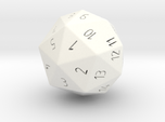 D40 Spindown classic Design 40 sided die