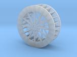 HO Scale Water Wheel 1