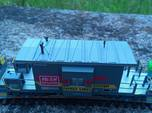 HO Bluford Caboose Roof