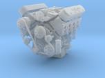 LSX/LS3 1/24 complete engine w/dual 4bbl intake