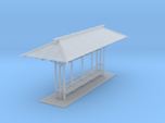 LAPAC Shelter Without Blinds N Scale
