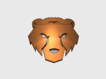 60x Bear Face : Shoulder Insignia pack