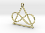 Infinite and triangle intertwined