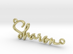 Sharon Script First Name Pendant