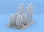 1/72 Robots for Dioramas X 8