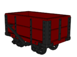 NWNGR 2 Plank Open Wagon 4mm