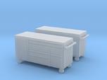 1/87th 7' mechanics tool chest cabinet box (2)