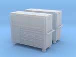 1/87th 7' Mechanics Tall tool chest cabinet (2)
